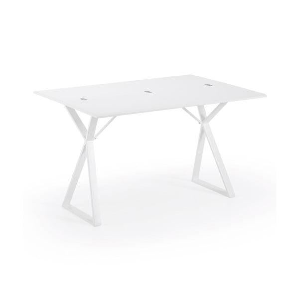 Biely konzolový stolík La Forma Atik