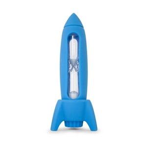 Modrá dětská zubní minutka J-Me Rocket