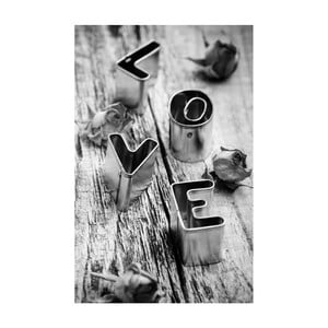 Obraz Black&White Love,45x70cm