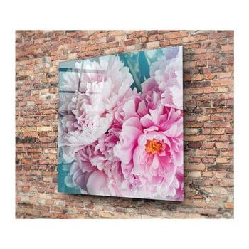 Tablou decorativ din sticlă Insigne Lemida, 40 x 40 cm de la Insigne