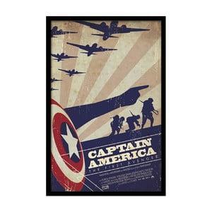 Plakát America, 35x30 cm