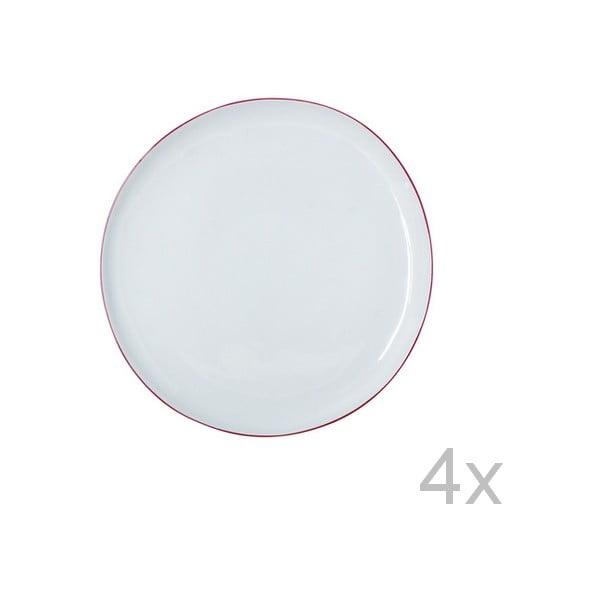 Set talířů Funky Rio, 21,5 cm (4 ks)