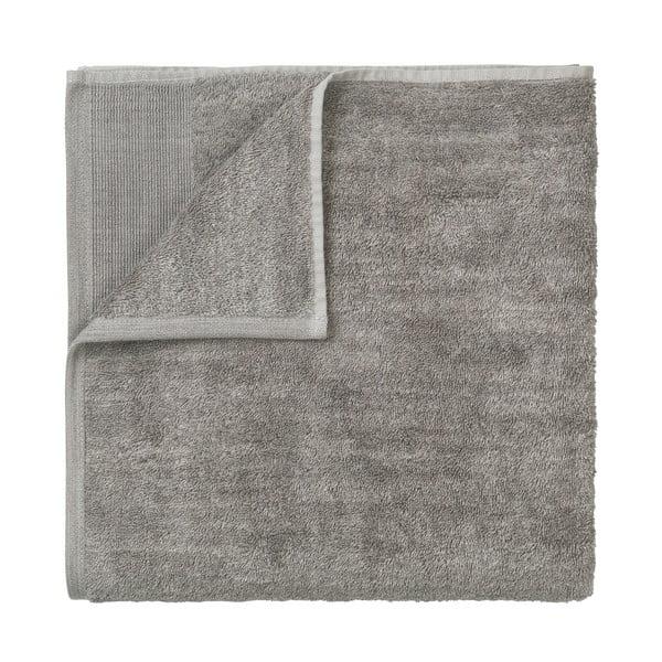 Sivá bavlnená osuška Blomus, 140 x 70 cm