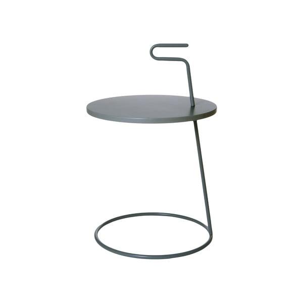 Odkládací stolek Serves Dark Grey