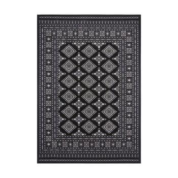Covor Nouristan Sao Buchara, 80 x 150 cm, negru poza