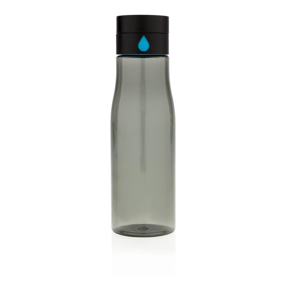 Černá cestovní láhev XD Design Aqualicious, 600 ml