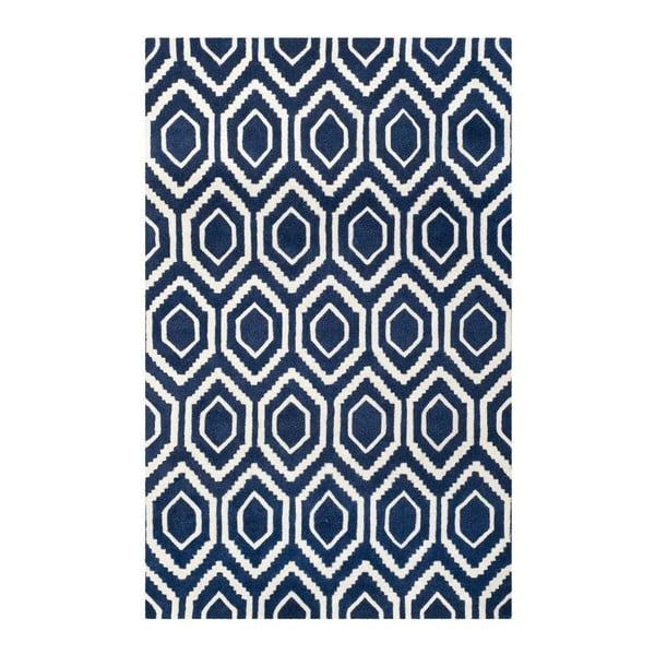 Vlněný koberec Essex Dark, 121x182 cm