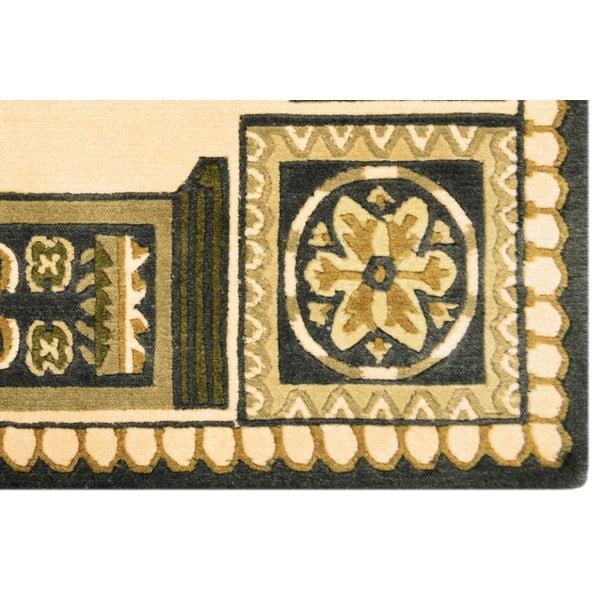 Vlněný koberec Bakero Beige, 120x180 cm
