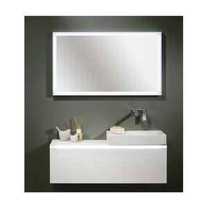 Bílá skříňka Le Bon Vipp s umyvadlem vpravo, bez otvoru na baterii