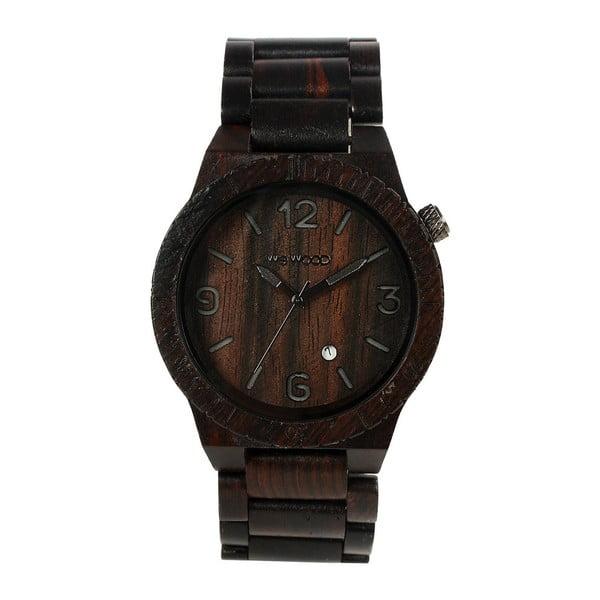 Dřevěné hodinky Alpha Black