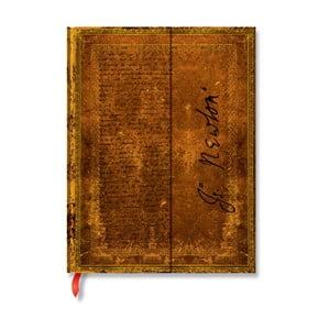 Zápisník s tvrdou vazbou Paperblanks Newton, 18x23cm