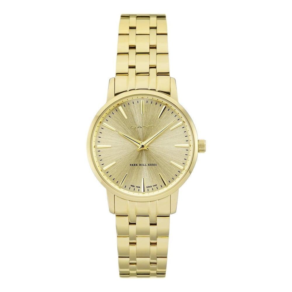 12562a171f9 Dámské zlaté hodinky Gant W11405