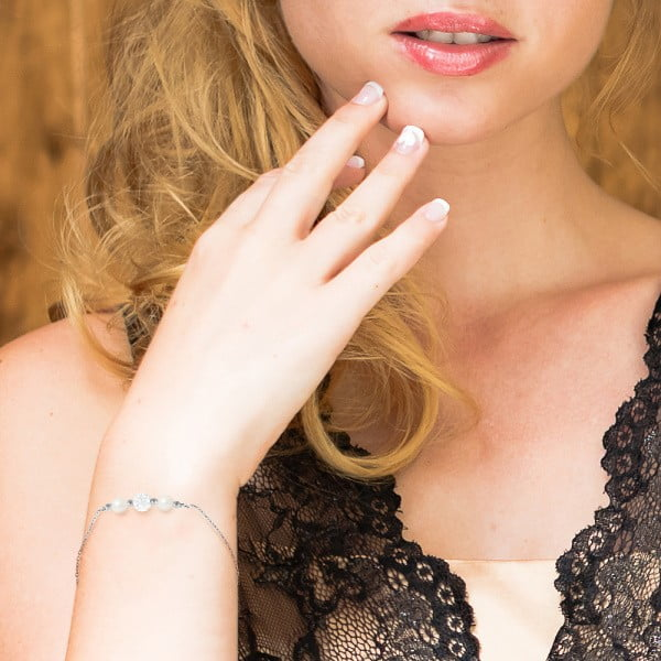 Náramek s říčními perlami Agathon