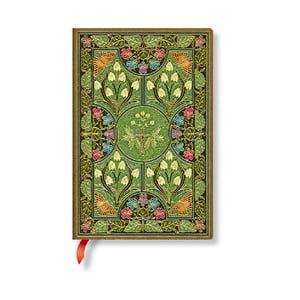 Linkovaný zápisník s měkkou vazbou Paperblanks Poetry In Bloom, 9,5x14cm