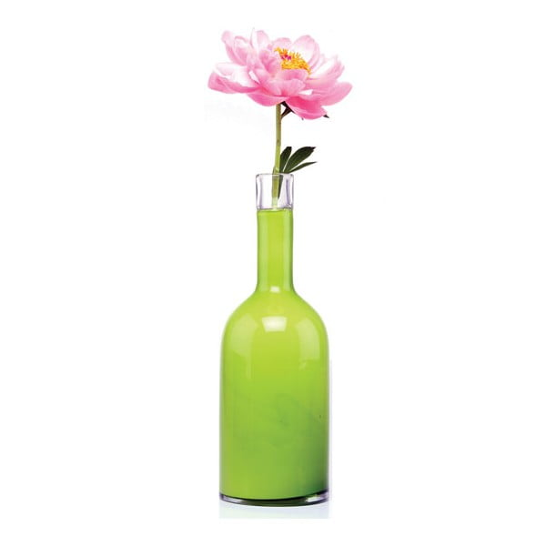 Váza Bottle, peridot