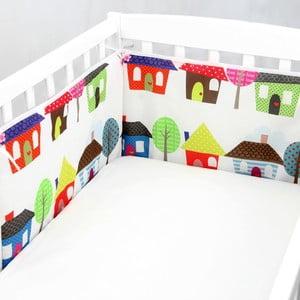 Výstelka do postýlky Happy Homes, 70x70x70 cm