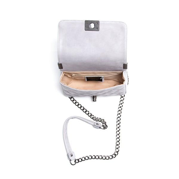 Kožená kabelka Juana, šedá