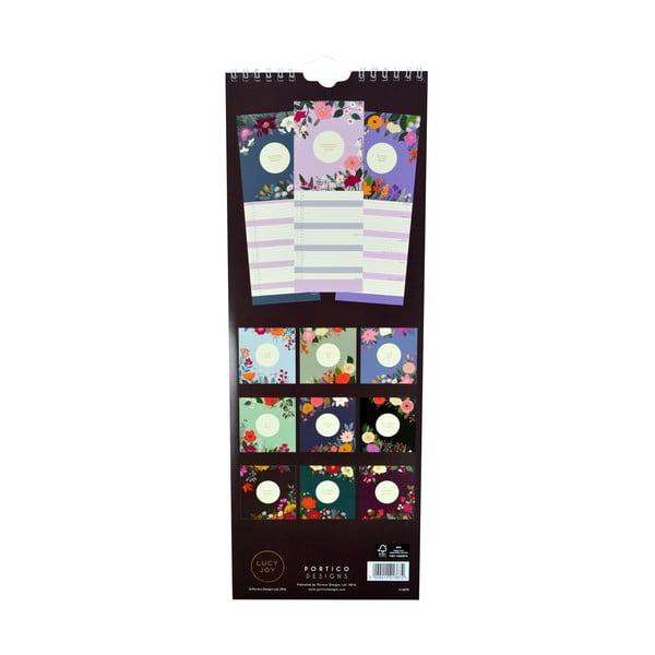 Úzký kalendář Portico Designs Lucy Joy
