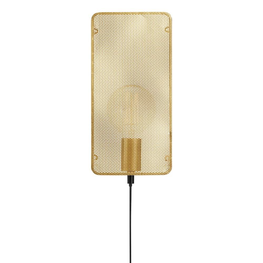 Nástěnné svítidlo ve zlaté barvě Markslöjd Mesh Wall Gold