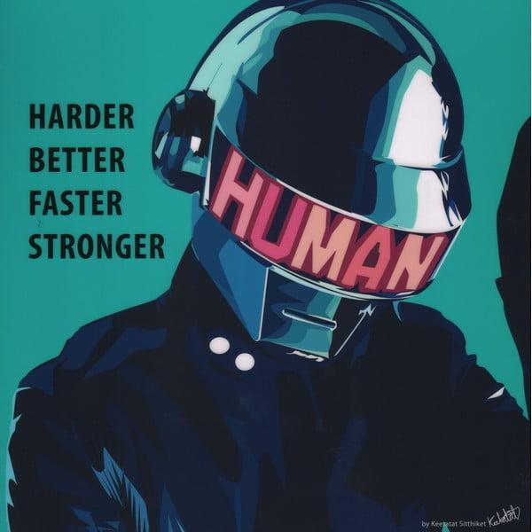 Obraz Daft Punk - Harder better faster stronger
