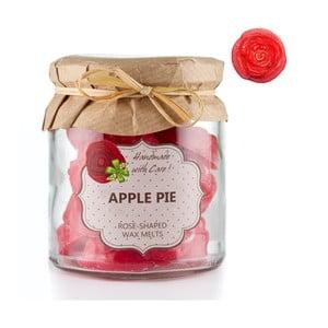 Sada 18 malých vonných svíček Apple Pie