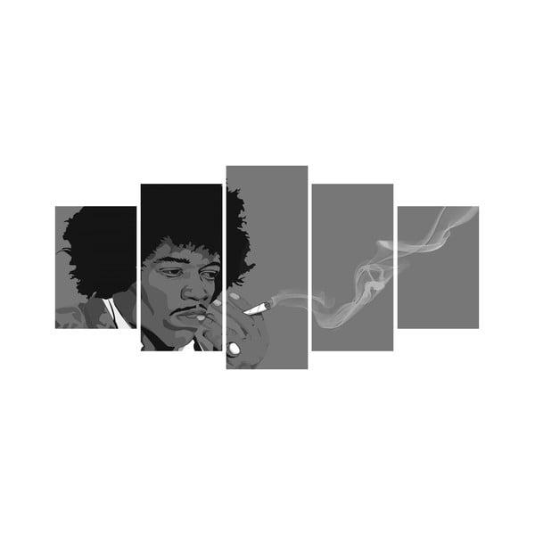 Vícedílný obraz Black&White no. 29, 100x50 cm