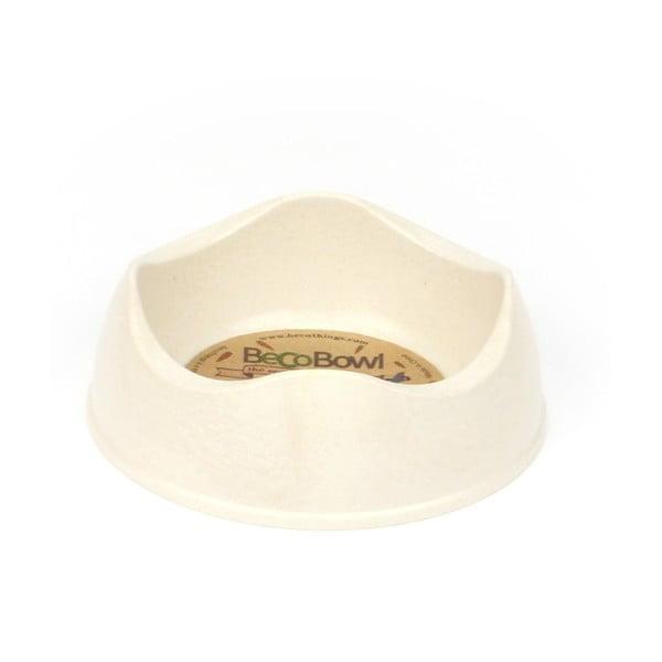 Psí/kočičí miska Beco Bowl 12 cm, přírodní
