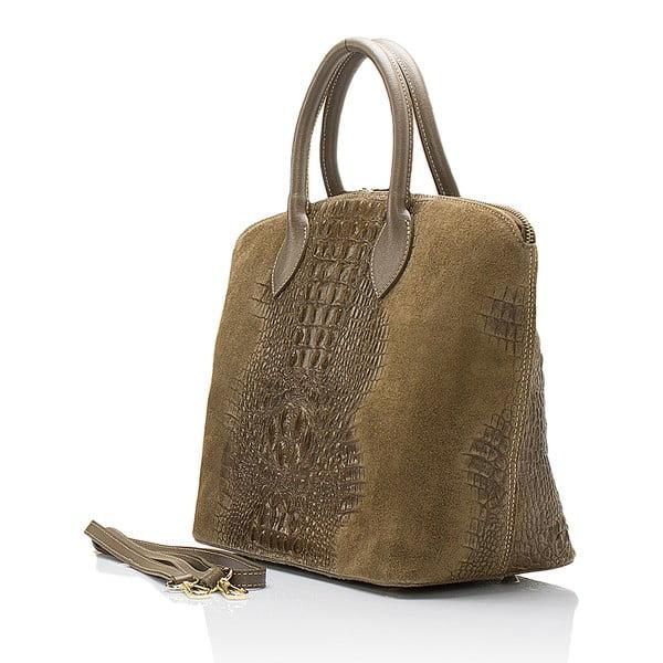 Béžová semišová kabelka Giorgio Costa Candace