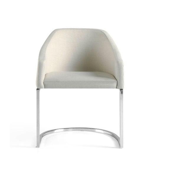Bílá židle Ángel Cerdá Sillón