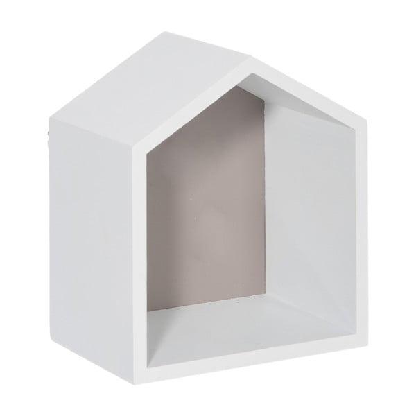 Nástěnná polička House Greige, 17x20 cm