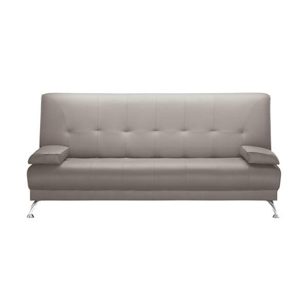 Szaro-beżowa sofa rozkładana Corinne Cobson Midnight