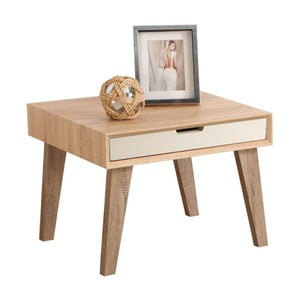 Stolek Idun End Table With Drawer