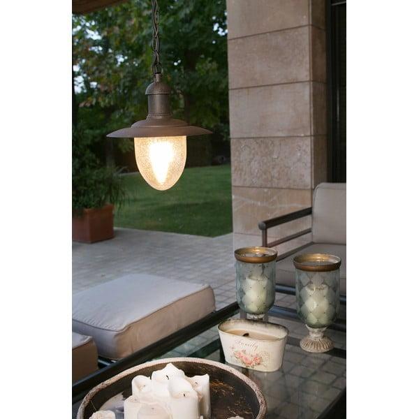 Závěsné světlo Mitra Marrone