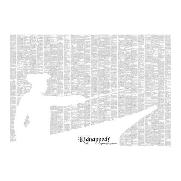 Knižní plakát Únos, 100x70 cm