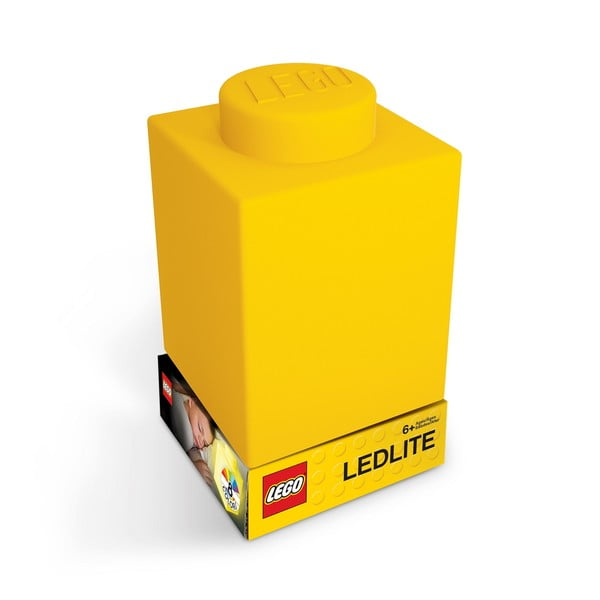 Lumină de veghe LEGO® Classic Brick, galben