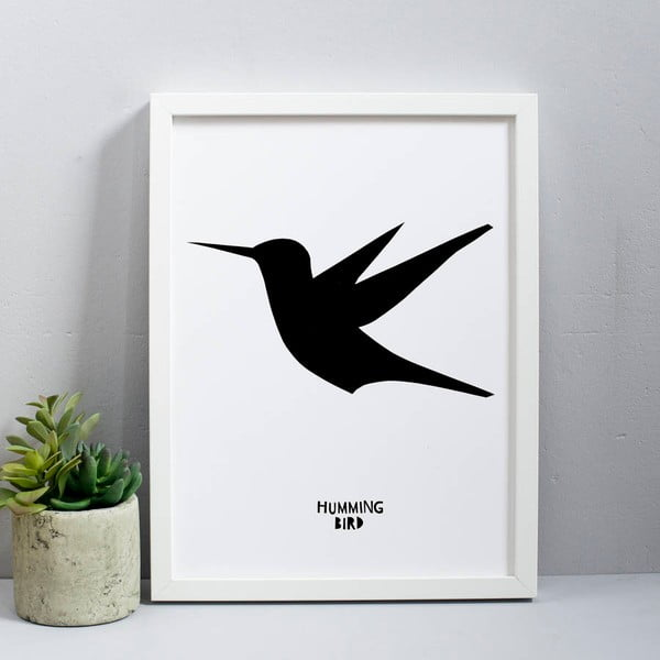 Plakát Karin Åkesson Design Humming Bird, 30x40 cm