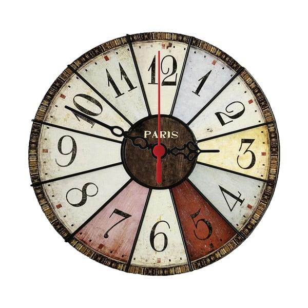 Nástěnné hodiny Vintage Paris, 30 cm