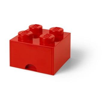 Cutie depozitare cu sertar LEGO®, roșu de la LEGO®