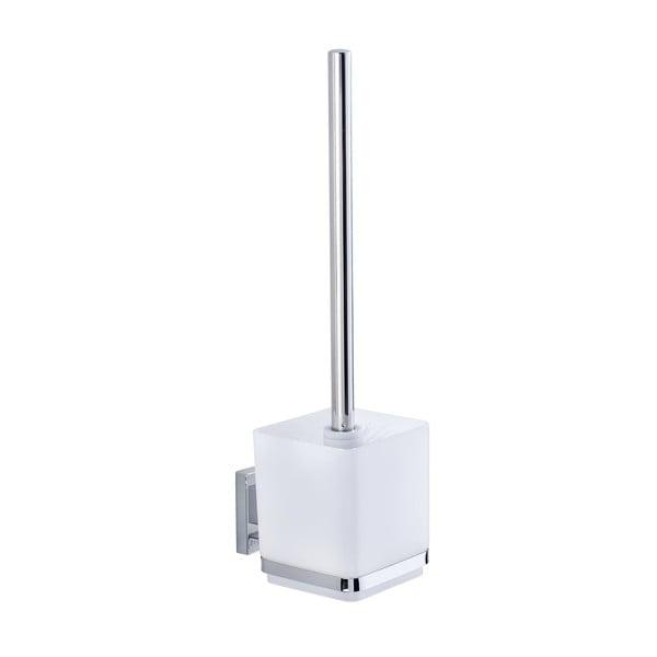 Uchwyt na szczotkę toaletową z przyssawką Wenko Vacuum-Loc, do 33 kg