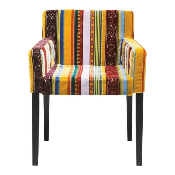 Farebná stolička s opierkami Kare Design Very British