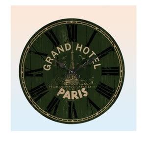 Nástěnné hodiny Grand Hotel Paris