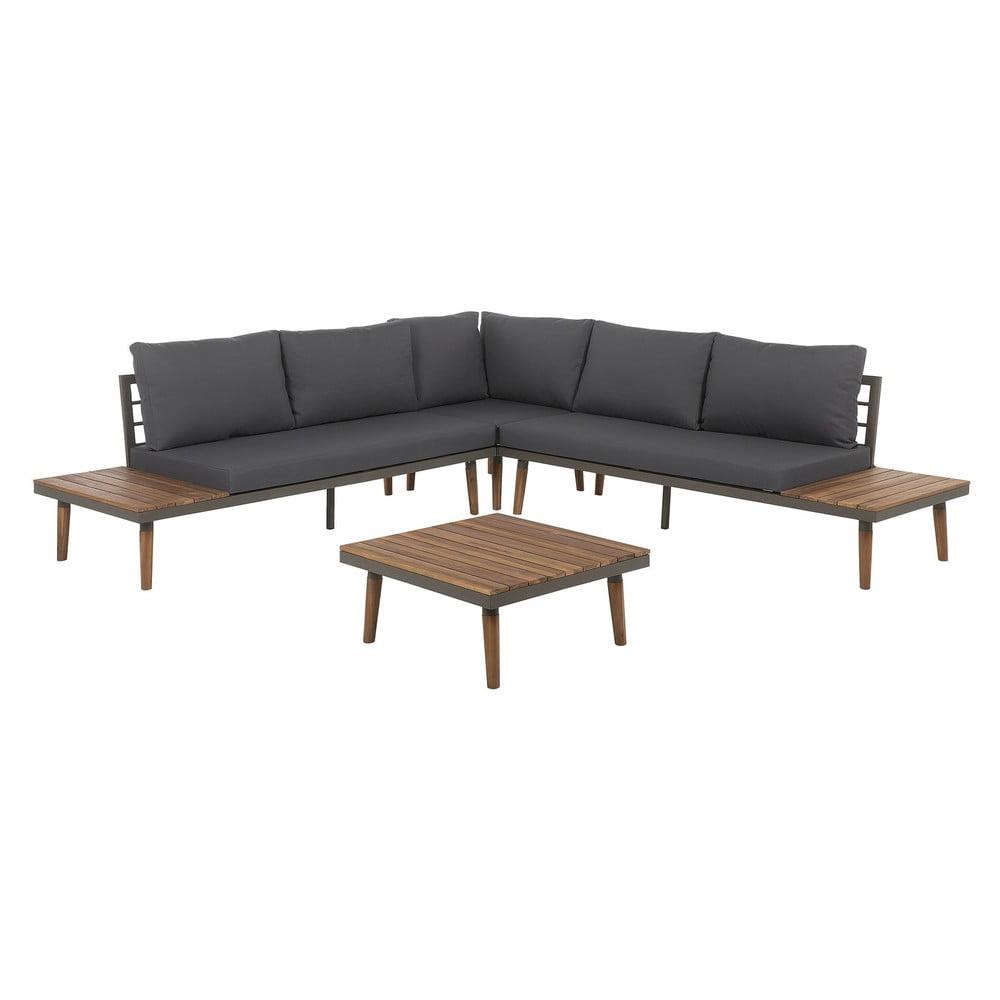 Set zahradního nábytku z akáciového dřeva Monobeli Harrare