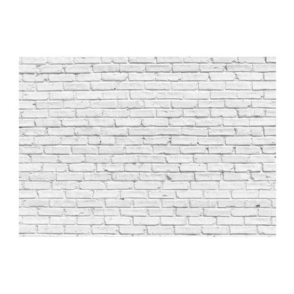 Tapet format mare Bimago Stone, 400 x 280 cm, alb