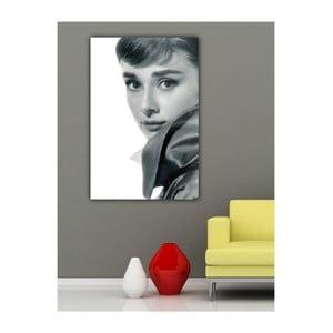 Obraz Audrey Hepburn, 60x40 cm