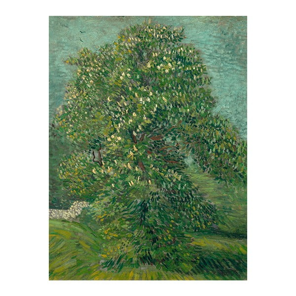 Obraz Vincenta van Gogha - Horse Chestnut Tree in Blossom, 60x45 cm