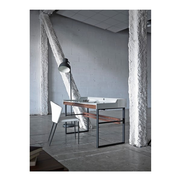 Bílá jídelní židle Ángel Cerdá Flavio