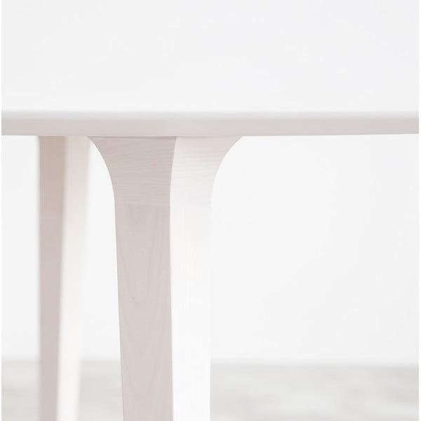 Stůl z běleného jasanu Stua Lau, 100cm