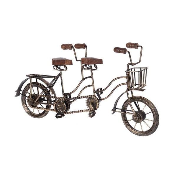 Dekorativní soška Wooden Bike