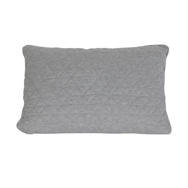 Polštář Quilt Grey, 40x60 cm