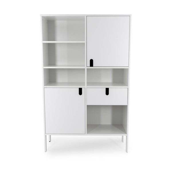 Uno fehér szekrény, magasság176cm - Tenzo